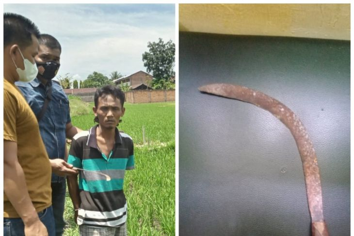 Polsek Binjai Timur tangkap pelaku perampasan gelang emas