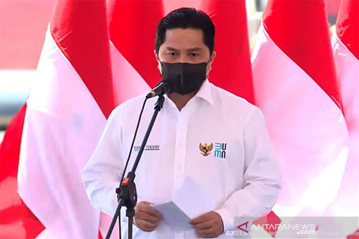 Menteri BUMN: SDM kunci utama jaga kesinambungan Indonesia ke depan