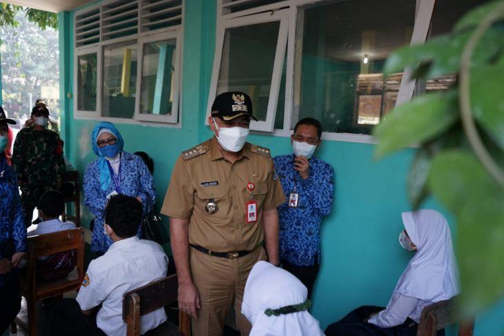 Pemberian vaksin pelajar di Kabupaten Tangerang capai 77 persen