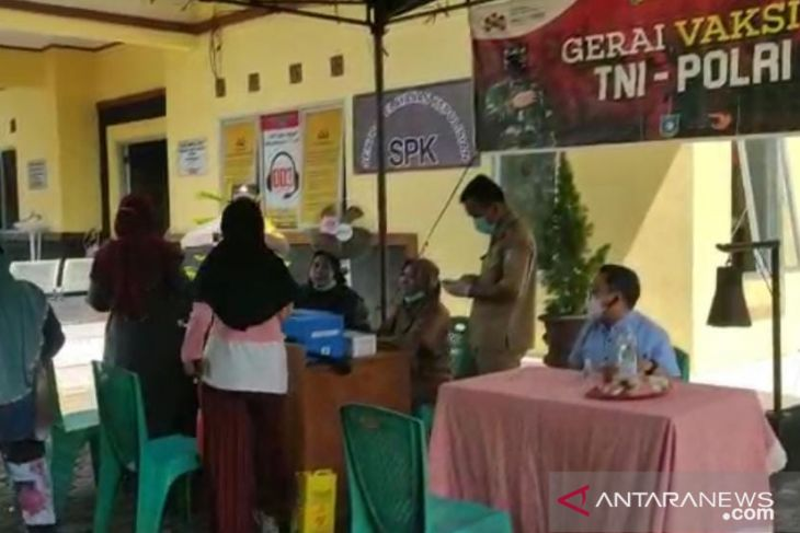 Satgas: Vaksinasi COVID-19 di Bangka Barat capai 56 persen