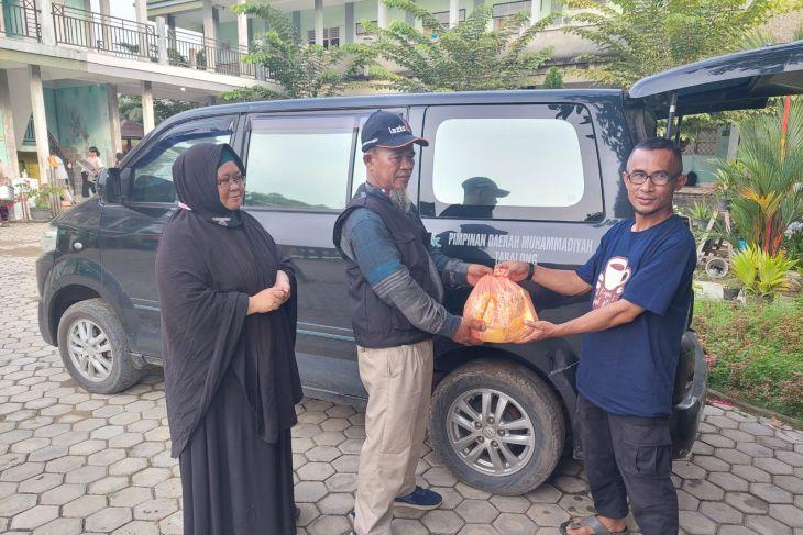 Lazismu dan Aliansi Tabalong bantu penyintas banjir Paser