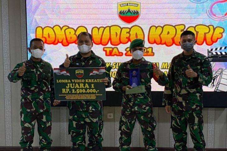 Koramil 11/Batang Angkola harumkan Kodim 0212/TS rebut Juara 1 Piala Pangdam I/BB