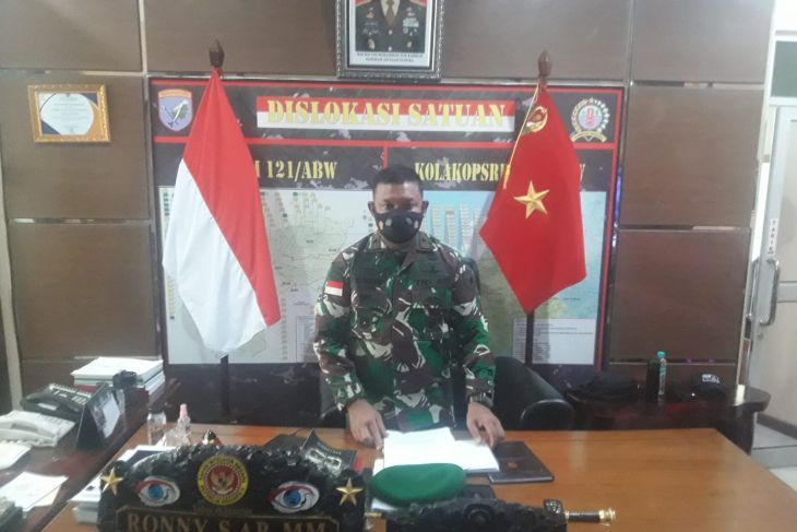 Korem 121/Abw komitmen terus aktif tangani COVID-19 di Kalbar