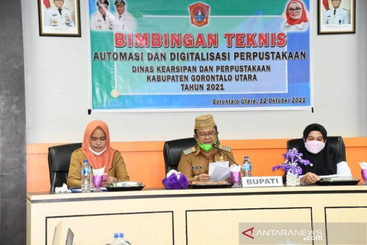 Bupati Gorontalo Utara dorong peran perpustakaan untuk tingkatkan minat baca
