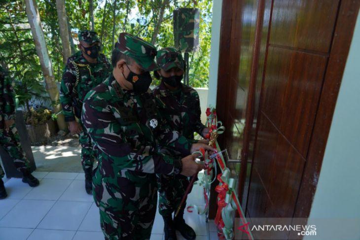 Pangdam meresmikan barak Kowad Kodam XVIII/Kasuari