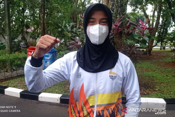 KONI Lebak sambut gembira prestasi emas Nida pada PON Papua