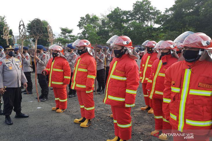 South Kalimantan Police deploys Brimob, Samapta companies to tackle forest fires