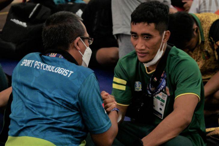 PON Papua: Pegulat Hasan Sidik pastikan Jatim penuhi target enam emas