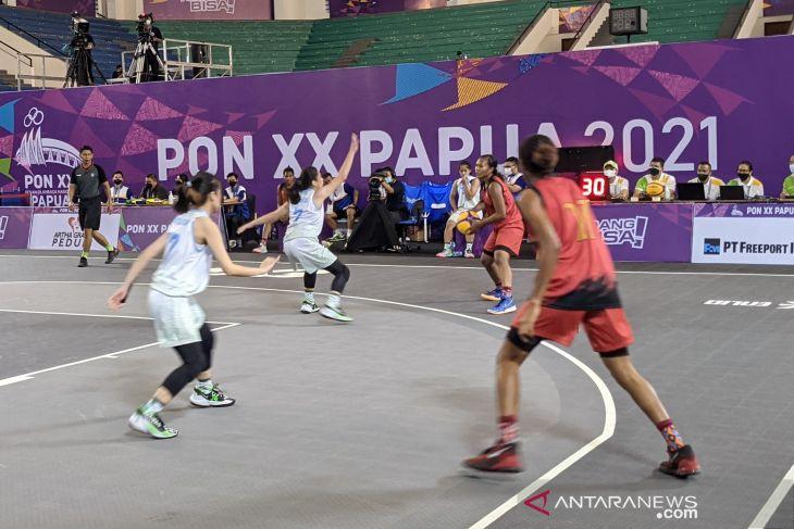 PON Papua - Kamis, Jadwal bola basket 3x3 masuki perebutan medali emas