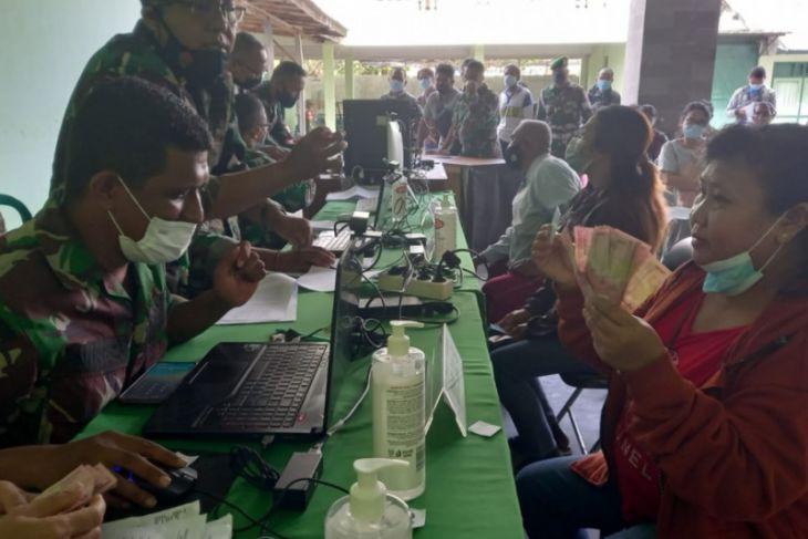 TNI AD di Bali salurkan bantuan tunai ke 5.000 PKL-UMKM