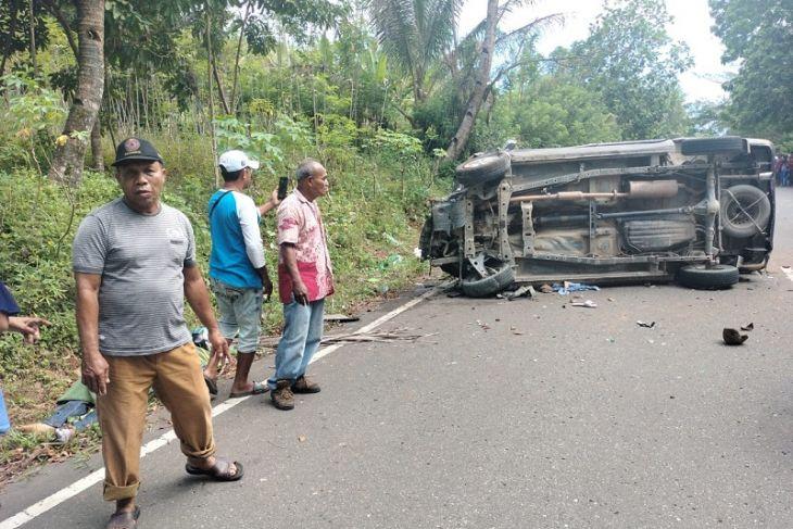 Polisi tetapkan satu tersangka laka lantas di Liang tewaskan tiga warga lalai mengemudi
