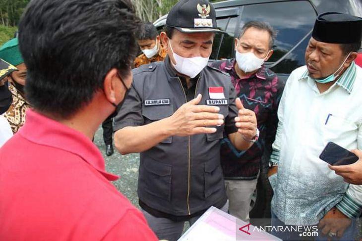 Zairullah tinjau lokasi pembangunan kantor kecamatan pemekaran