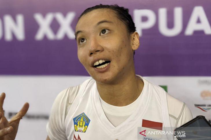 PON Papua - Regita: basket 3x3 putri Bali belum maksimal pada laga perdana