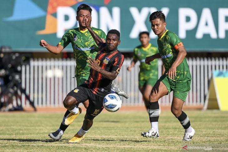 Perjalanan tim sepak bola putra Papua dan Aceh menuju final PON Papua