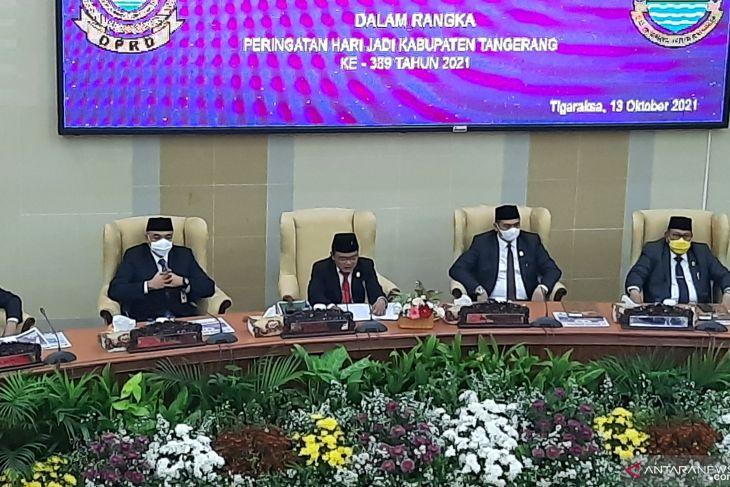 DPRD Kabupaten Tangerang apresiasi kinerja dan pencegahan COVID-19 di Tangerang