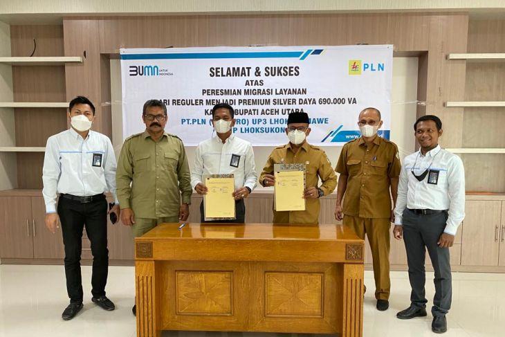 Kantor Bupati Aceh Utara masuk layanan premium PLN