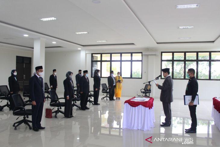 Wabup harapkan kinerja dari pejabat yang dilantik