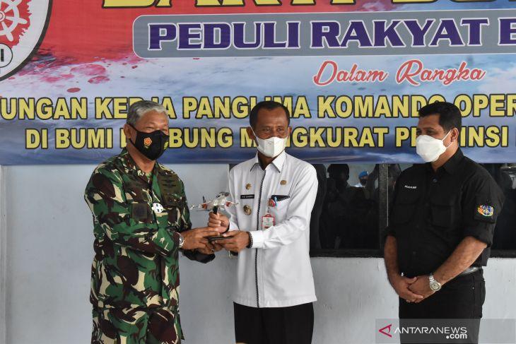 Bupati berharap lahan TNI-AU di Desa Maluka Baulin dijadikan ladang usaha baru masyarakat