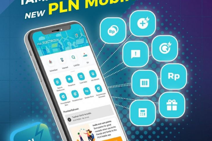 Fitur makin lengkap, sekarang bisa beli token Rp5.000 di PLN Mobile