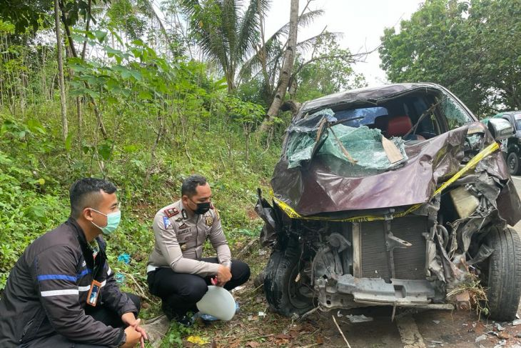 Jasa Raharja Maluku santuni korban laka lantas di Liang hak para korban