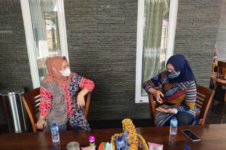 Ketua Bhayangkari silaturahmi kepada Ketua PKK Langkat