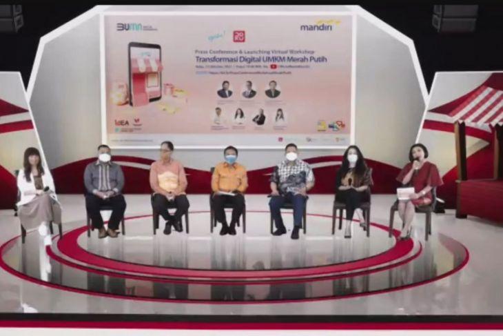 Bank Mandiri, Yokke, idEA dorong digitalisasi UMKM