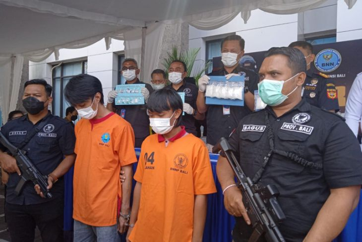 BNNP Bali gagalkan peredaran 1 kg sabu oleh mahasiswa Lampung