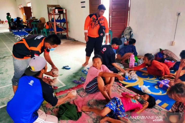 Banjir di Kabupaten PPU surut sekitar 5-10 cm