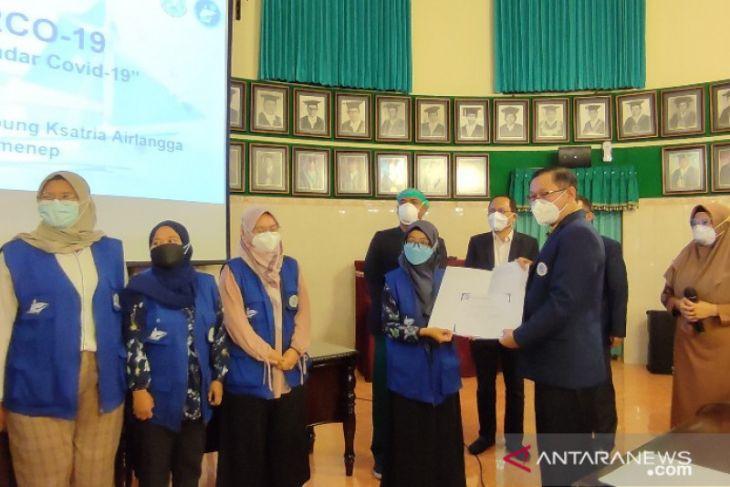 Dokter baru lulusan FK Unair tuntaskan misi MARCO-19 bersama RSTKA