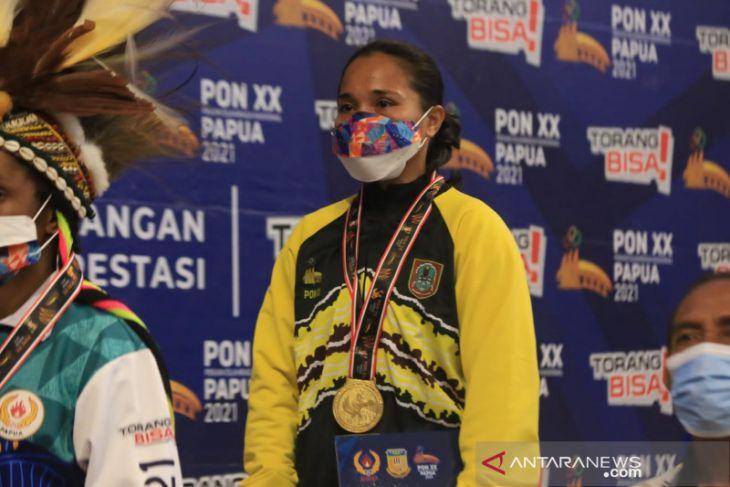 Kalsel tambah medali emas dicabang tinju putri kelas 51 Kg PON Papua