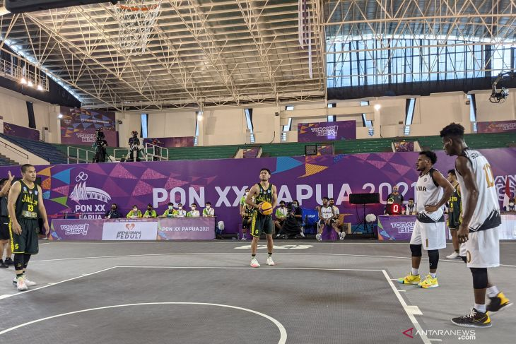 PON Papua: Jadwal bola basket 3x3 pada Kamis, perebutan medali emas