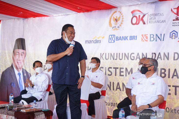 Rachmat Gobel harap kehadiran OJK bantu tingkatkan sektor pertanian Gorontalo