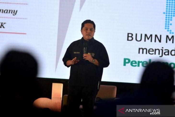 Erick Thohir BUMN teruskan kolaborasi dengan komunitas kreatif