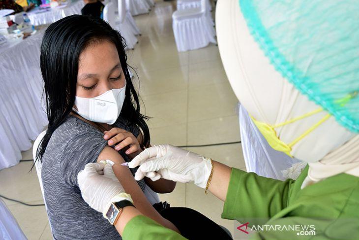 Capaian vaksinasi di Maluku baru 28 persen ayo perangi COVID -19