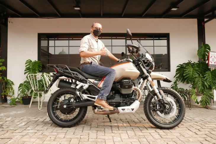 Moto Guzzi V85 TT Travel mendarat di garasi konsumen pertama begini penampakannya