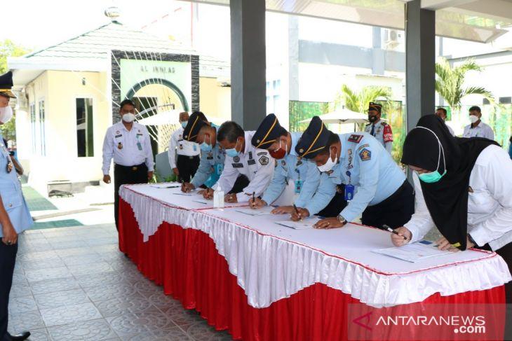 Kanwil Kemenkumham Gorontalo dan BNN kerja sama terkait P4GN