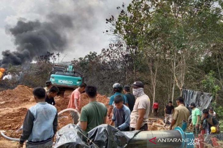 Polisi: Tak ada korban jiwa dalam ledakan sumur minyak ilegal