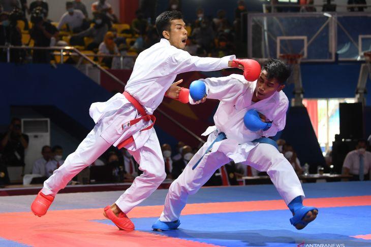Jadwal karate PON Papua:  dua emas jadi penutup laga di Kayu Batu