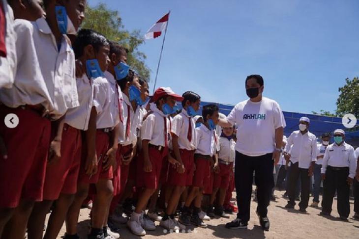 Menteri Erick berharap CSR BUMN berdampak positif bagi Desa Komodo