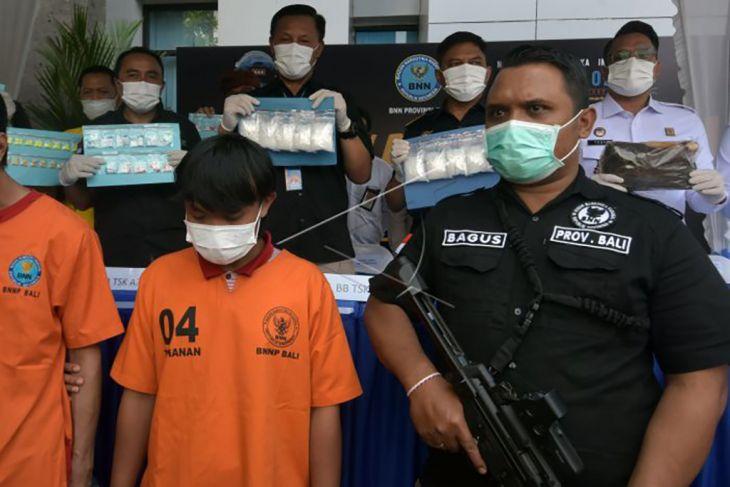 Mahasiswa penerima sabu-sabu 1Kg ditangkap