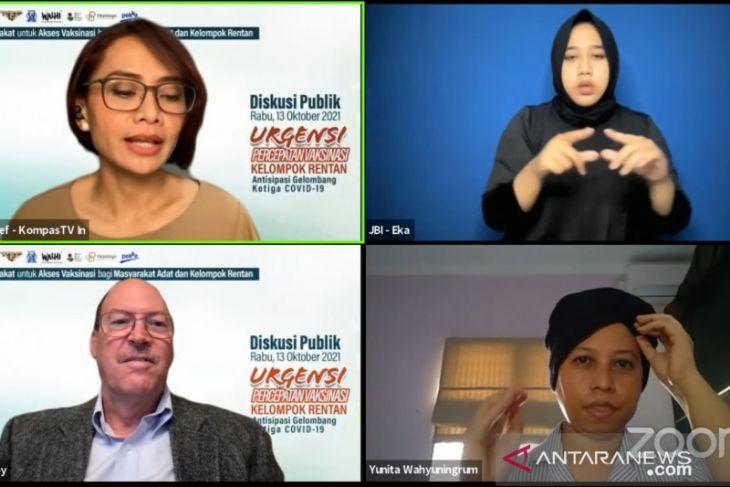 Survei: 40 persen lansia Indonesia tidak mau divaksin