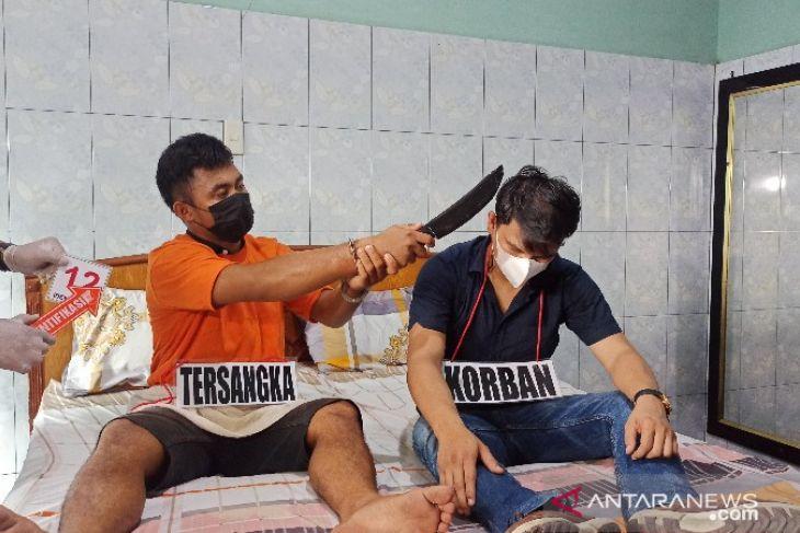 Polisi gelar prarekonstruksi adegan  pembunuhan di hotel di Medan