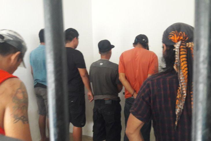 14 warga Wampu diamankan oleh BNN Langkat