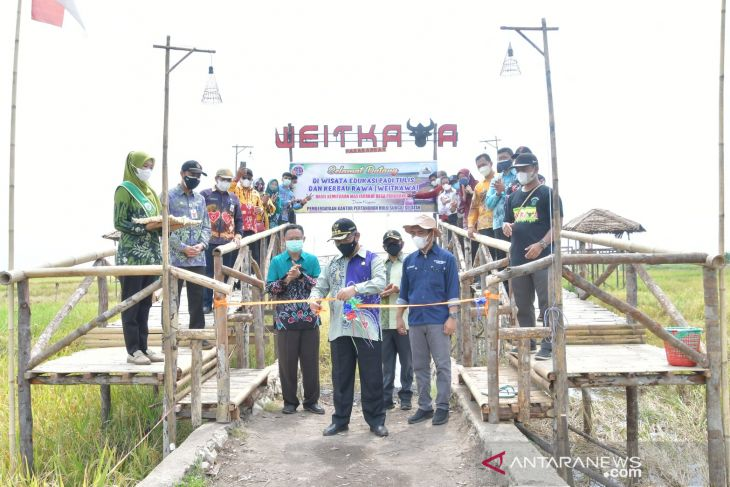 Bupati resmikan wisata edukasi padi tulis