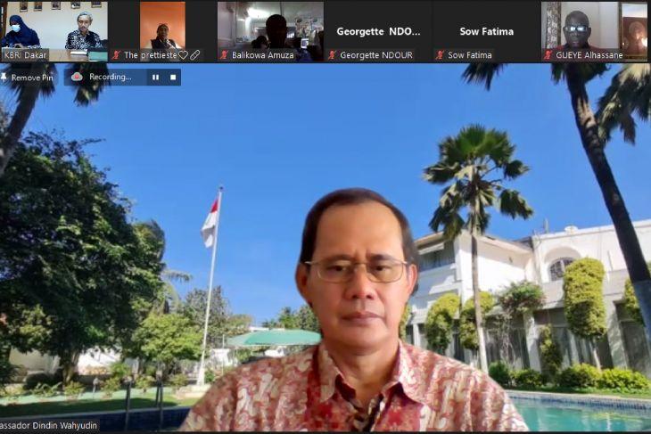 Masyarakat Afrika Barat antusias belajar bahasa Indonesia