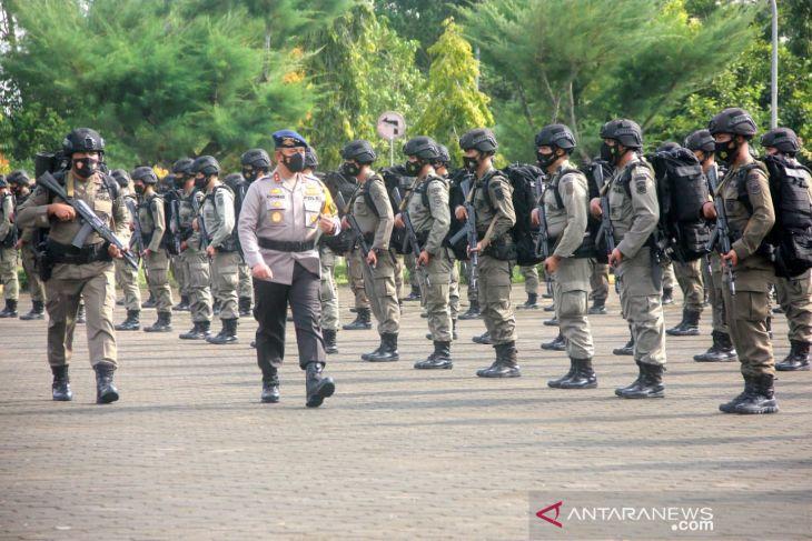 150 personel Brimob Jambi dilepas untuk bertugas di Poso