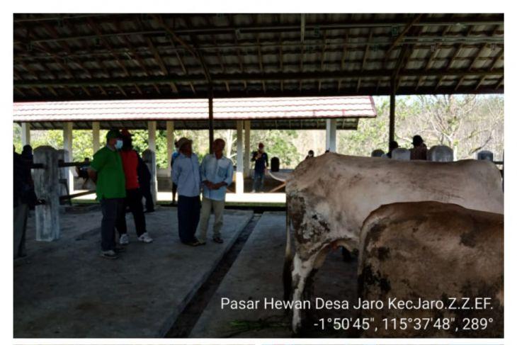 Pasar hewan Jaro Tabalong kembali beroperasi