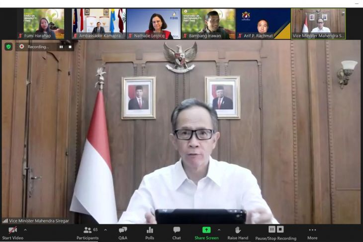 Indonesia urges vegetable oil industry to cooperate in achieving SDGs