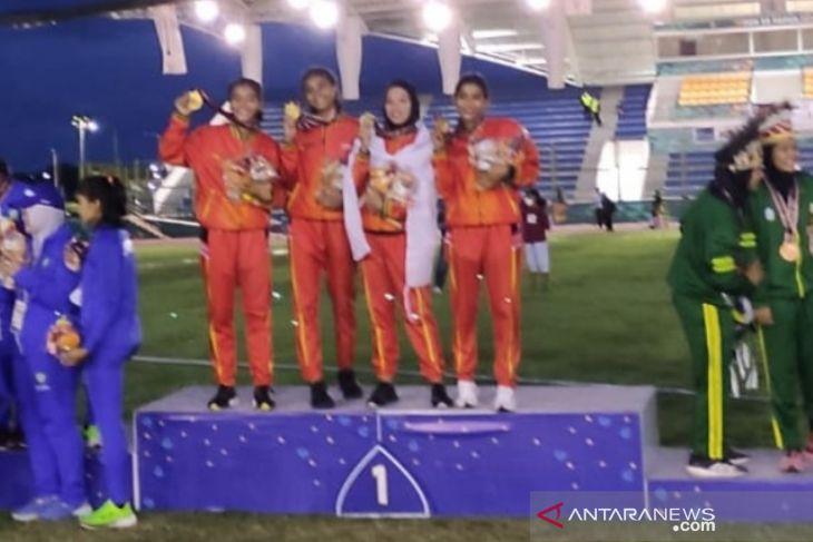 Rekor renang  4x400 meter estafet putri dipecahkan, kwartet Jateng pelaku sejarahnya