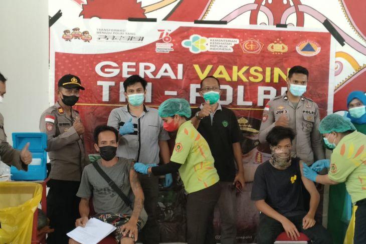 Kencana Group bersama pemerintah gelar vaksinasi di batas RI-Malaysia